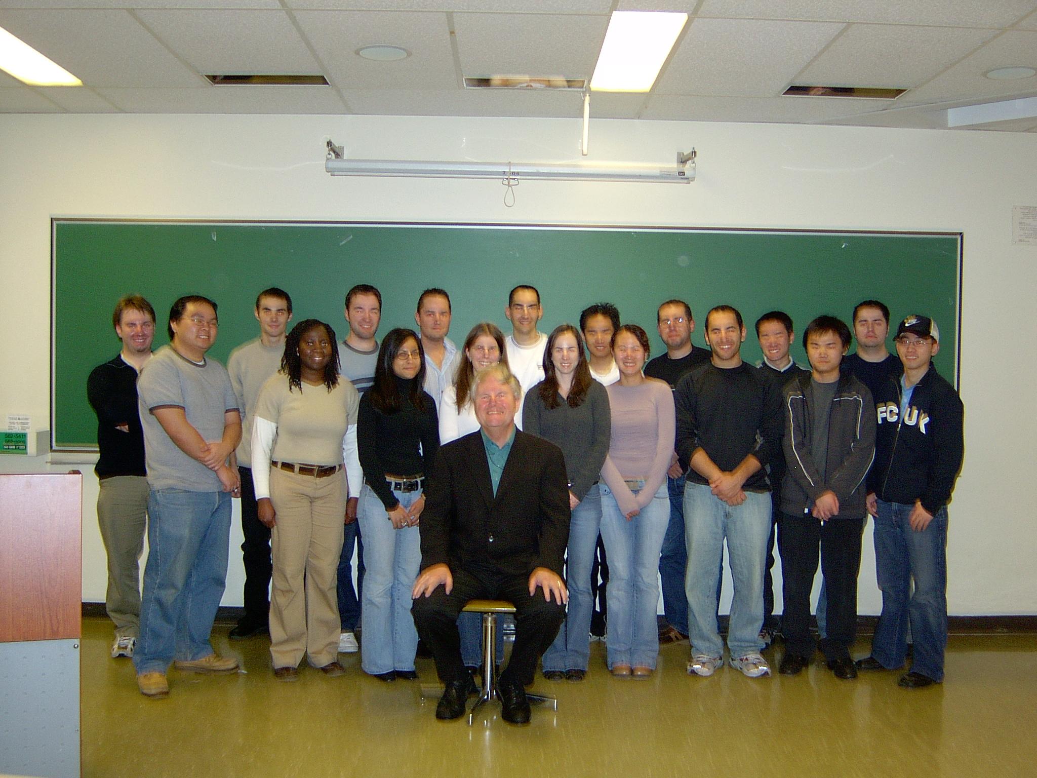 last class Nov. 30,2005